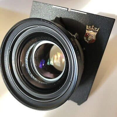 Schneider Symmar-S 210mm f/5.6 Lens with Copal No.1 Shutter $0.01 Start / NR