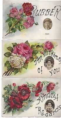 Vintage Different Postcards Circa 1800's-1900's Lot of 5 *