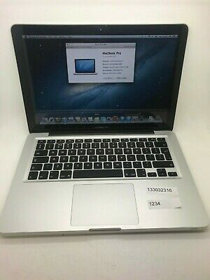 "Apple MacBook Pro Core i7 2.9GHz 13"" Mid 2012 8GB RAM 750 HDD"