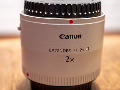 Excellent Canon 4410B005 Extender EF2x III Lens