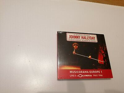 Double Cd Promo Johnny Hallyday - Live A L'olympia - Musicorama Europe 1 - Neuf