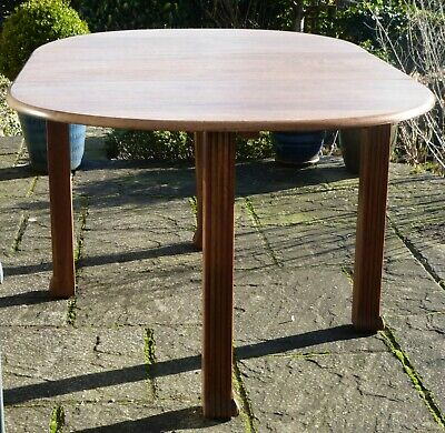 Vintage/Antique Oak drop-leaf dining table, Arts and Crafts Style.