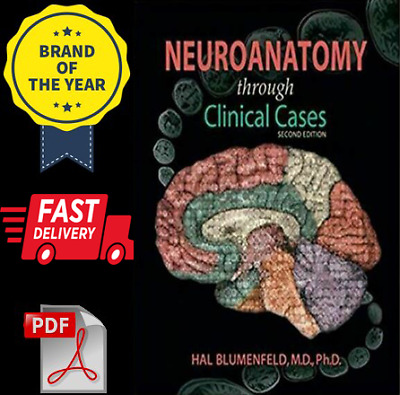 🔥[FAST SHIPPING] Neuroanatomy through Clinical Cases 2nd Edition
