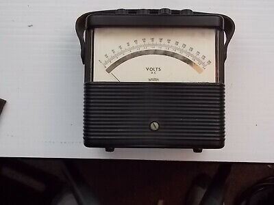 Weston 901 Dc Voltmeter 0-3 0-150 0-300 & Weston 901 Dc Ammeter 0-20  0-10 0-2