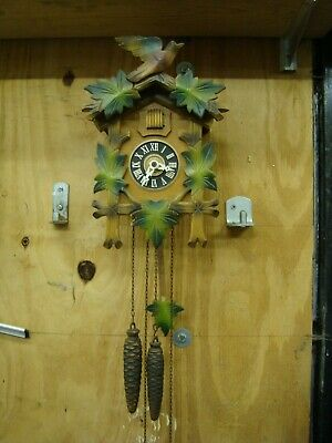 Cuckoo Clock Mechanical Black Forest. Good working condition.
