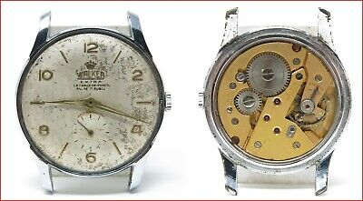 Orologio Walker mechanic watch caliber fontainemelon 26 clock fhf 26 spare parts