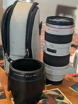 Canon EF 70-200mm f/2.8 USM Lens - Good Condition