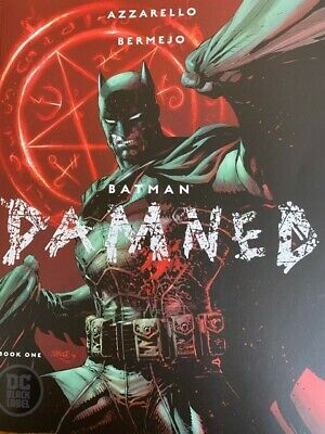 Batman Damned #1 1st print (NUDE) panel uncensored soldout Brmejo cover NM.