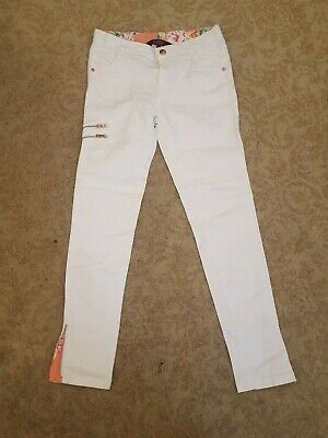 Ted Baker  jeans - trousers - 10 yrs white