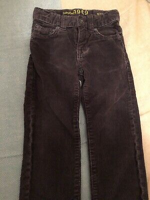 Baby Gap 1969, Age 2 Dark Grey Coudroy Trousers, Slight Faded Style.