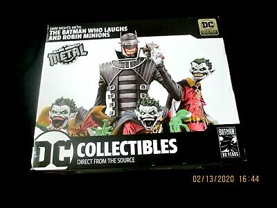 Dc Collectibles The Batman Who Laughs And Robin Minions 3456/5000   New