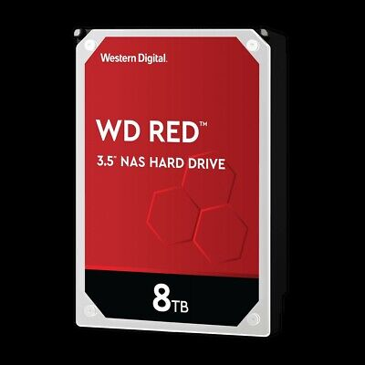 "8TB WD Red NAS HDD 3.5"" SATA Hard Drive Western Digital"