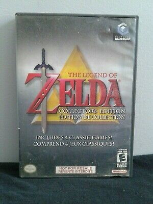 Nintendo Gamecube The Legend of Zelda Collector's Edition