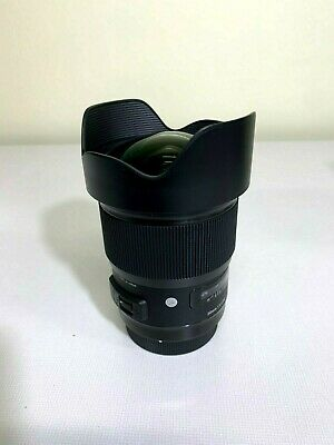 Lightly Used Sigma 85mm f/1.4 DG HSM Art Lens for Canon EF - Free Shipping