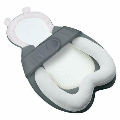 MBQMBSS Baby Head Support Portable Newborn Lounger Anti-Rollover Hook & Loop