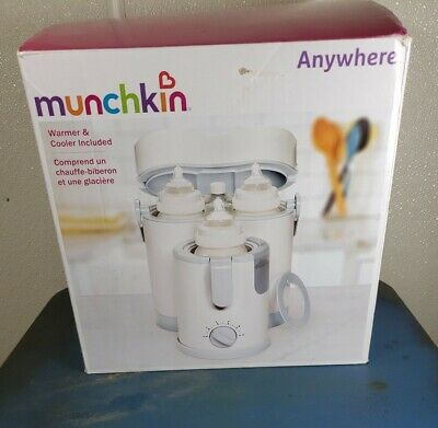 Munchkin Night and Day Bottle Warmer/Cooler Free Shipping!!