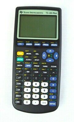 TESTED Texas Instruments TI-83 Plus Graphing Calculator