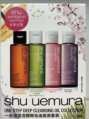 shu uemura - One Step Deep Cleansing Collection *aus Japan* 4x 50 ml