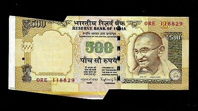 India Banknote Massive Replacement Issue Error Ink Difference Light//Dark Rs 10//