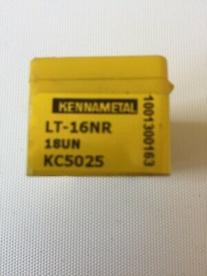 Kennametal 5 x New Carbide Threading Inserts TNMC43NT8P KC730