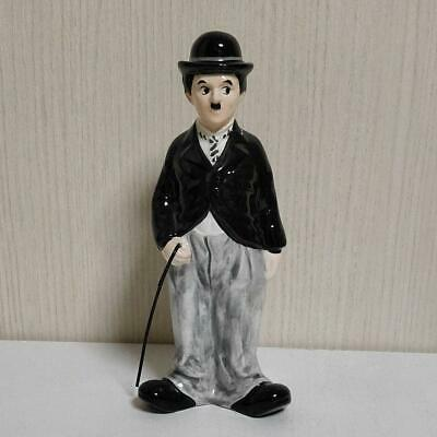 Charlie Chaplin piggy bank Coin Bank Money RARE Vintage Antique