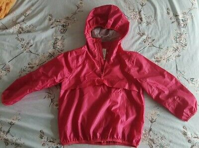 Next Child girls Windbreaker Light Jacket  Pink 5 Years
