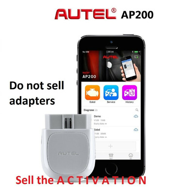 Activation The Autel Ap200 (1 Year Updates Is Free)