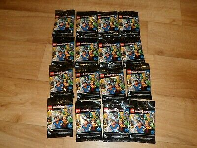 LEGO Minifigures DC SUPER HEROES Series Complete new SET of 16 UK SEALED! 71026