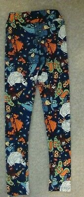 LuLaRoe Halloween Ghost Witches Leggings Childs L/XL NEW