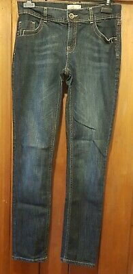 Ladies NEXT Blue Skinny Jeans. Size 10 Long