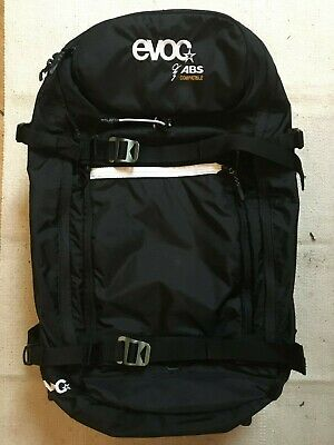 ABS Vario Zip-On Pack Avalanche Airbag System for base pack Bag Add on Grey *RCP