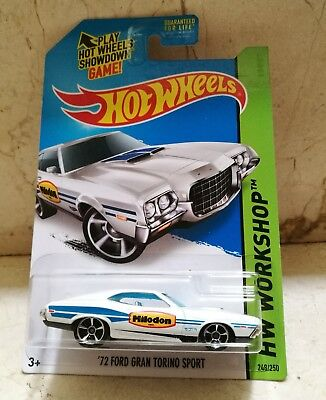 Hot Wheels '72 FORD GRAN TORINO SPORT Milodon