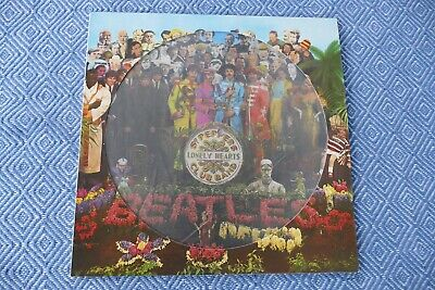 THE BEATLES Sgt. Peppers Lonely Hearts Club Band LP RARE ORIGINAL PICTURE DISC