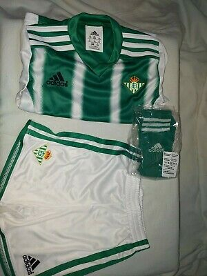 Adidas Performance Kids Replica Mini Kit REAL BETIS BNWB UK 1-2 Yrs EU 92