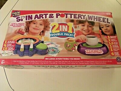 Made By Me Pottery Wheel Set, Complete Unused