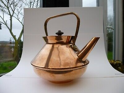 Christopher Dresser Aesthetic Movement Copper And Brass Kettle