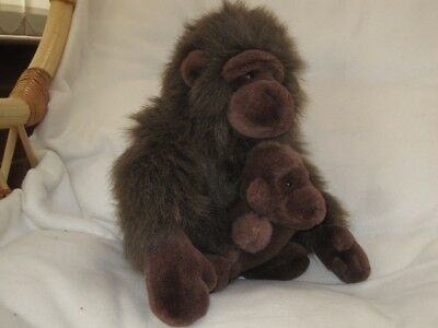 BABY GORILLA AND MOTHER GLOSSY POSTER PICTURE PHOTO monkey chimp ape decor 408