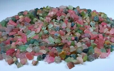 700 Cts Huge Lot Of Multi Color TOURMALINE Rough Lot From AFGHANISTAN