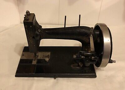 antique Old Hand Crank sewing machine