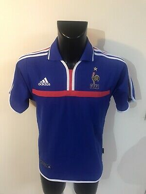 Maillot Foot Ancien Equipe De France 2000 Taille S