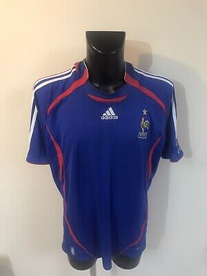 Maillot Foot Ancien Equipe De France 2006 Taille XL