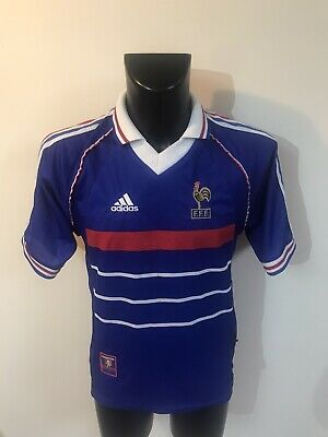 Maillot Foot Ancien Equipe De France 98 Taille S