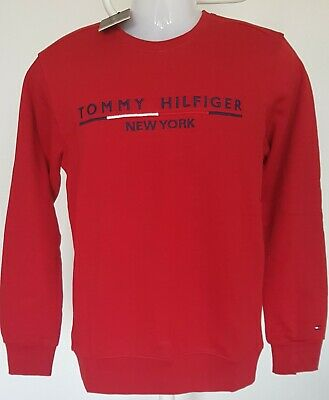 Tommy Hilfiger Sweatshirt  Herren Regular Fit Gr. L 100 % Baumwolle