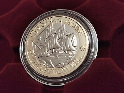 2020 Royal Mint £2 Pound Coin Mayflower Brilliant Uncirculated ref12