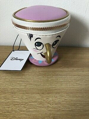 Disney Beauty & the Beast Chip Coin Purse Brand New With Tags Primark