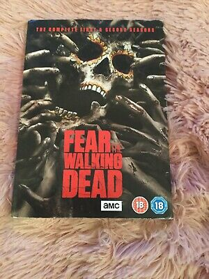 Fear the Walking Dead Complete Collection 1-2 DVD Box set All Season 1 2 UK NEW