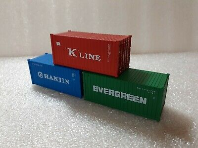 Tropical Shipping Container Card Kits 40ft Buy Now /& FREE 20ft x 6 HO Gauge 1:87