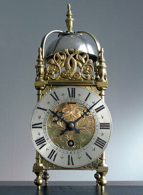 CLOCK -RARE URGOS - 3 Train  Platform Escapement