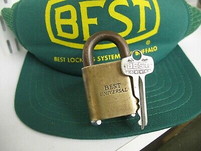 BEST UNIVERSAL padlock /best lock/ best padlock/ advertising lock/ antique lock.
