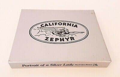 """Portrait of a Silver Lady"" Book on California Zephyr Train"